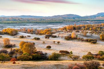 Autumn grasslands of Inner Mongolia