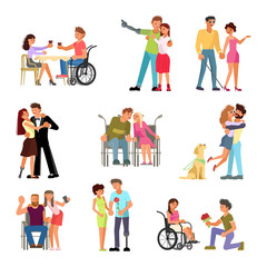 Love and dating of disabled people