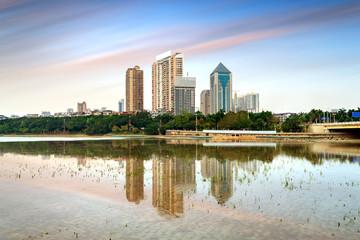 China Nanning cityscape