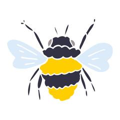 cartoon doodle bumble bee