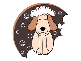 toilettage chien toiletteur logo