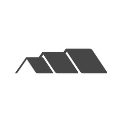 Home roof icon, House Roof Icon Logo