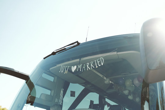 Just Married Bus