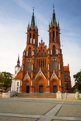 Obraz Bazylika Wniebowzięcia Najświętszej Maryi Panny w Białymstoku - fototapety do salonu