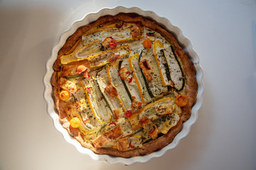 french food, tarte