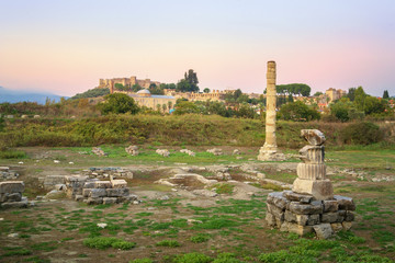 Temple of Artemis at Ephesus - Selcuk, Turkey