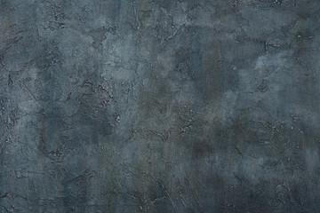 Grunge art decorative design gray texture blue dark stucco concrete background