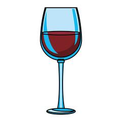 Wine glass cup