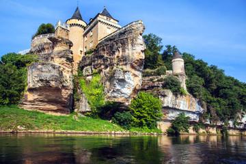 Chateau de Belcayre, Dordogne, Frankreich