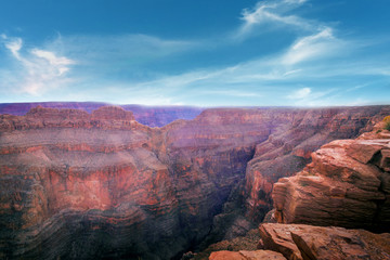 Wall Murals Deep brown Grand Canyon National Park , USA