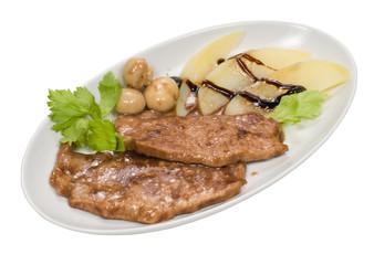 Filetto di carne con aceto balsamico