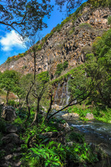 Dashbashi Canyon and Khrami river in Tsalka region, Georgia