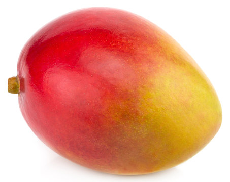 Mango isolated on white background Clipping Path