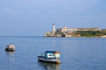 Havana Harbour, Boat, Castillo de los Tres Reyes del Morro
