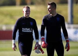UEFA Nations League - England Training