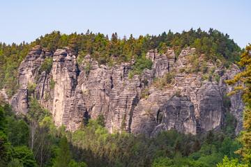 Saxon switzerland mountain