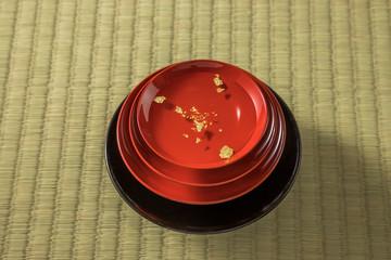 お屠蘇 祝い酒 New Year celebration sake of Japan