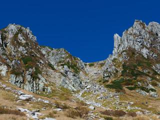 千畳敷カールと岩峰