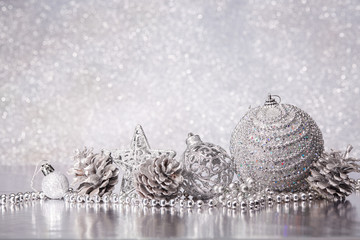 Chrismas and New Year background.