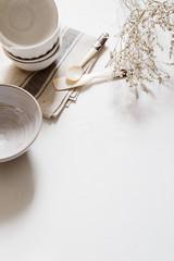 white  kitchen accessory