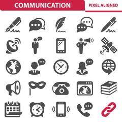Communication & Social Media Icons