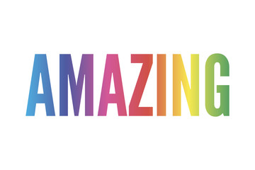 slogan Amazing phrase graphic vector Print Fashion lettering calligraphy