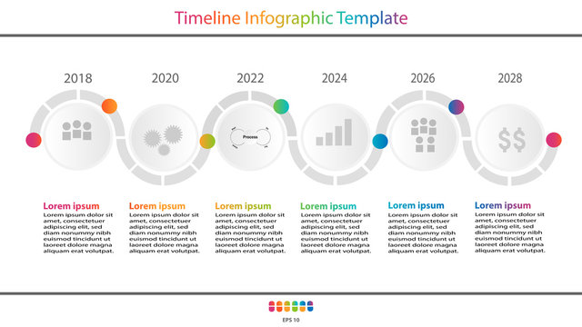 Vector 10 infographic roadmap timeline 2