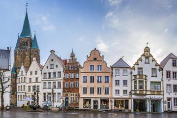 Wall Murals Historical market square, Warendorf, Germany