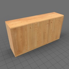 Wooden sideboard 1