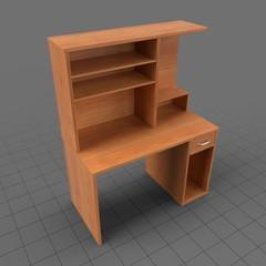 Wooden computer desk 2