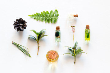 cosmetics from natural wood ingredients
