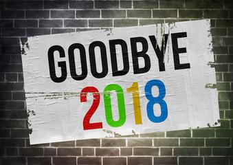 Goodbye to 2018