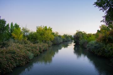 Jordan River in the Morning Wall mural