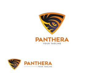 Panther's skin pattern in the shield