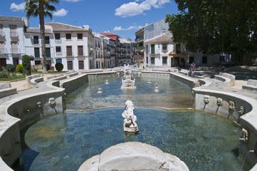 Priego de Córdoba, Fuente del Rey, Andalusien, Spanien