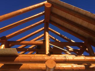 Der Dachstuhl als gute Zimmermannsarbeit