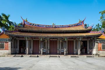 The Confucius temple in Taipei, Taiwan.
