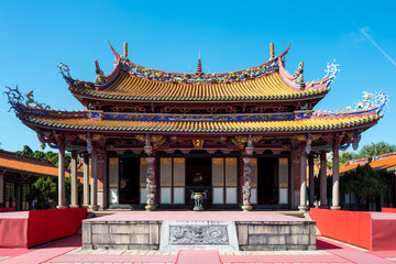 The Confucius temple in Taipei, Taiwan.