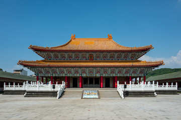 Confucius temple in Kaohsiung, Taiwan.