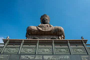 Statue at a temple in Kaohsiung
