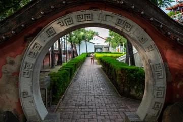 The Fort Provintia in Tainan, Taiwan.