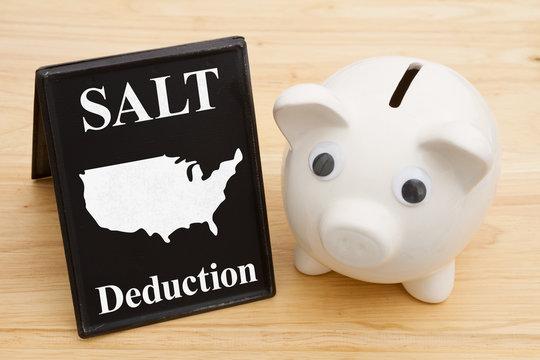 The SALT deduction for the federal USA taxes