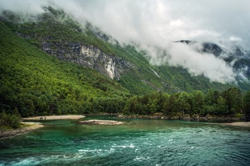 Wall Mural - Norwegian Wilderness Landscape