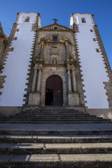 Church of San Francisco Javier in Caceres city in Extremadura region, Spain