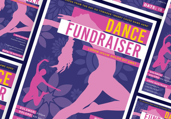 Dance Fundraiser Flyer Layout