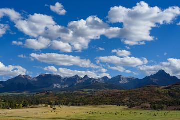 The San Juan Mountains of Colorado in Autumn