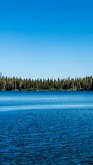 Mammoth lake summer day
