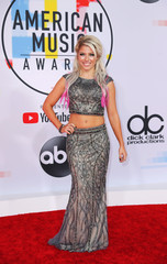2018 American Music Awards - Arrivals - Los Angeles, California, U.S.