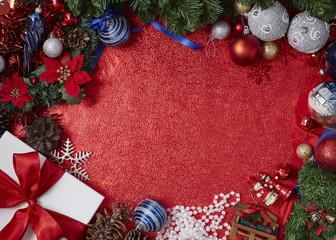 Christmas decoration image concept