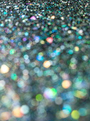 Holographic glitter background
